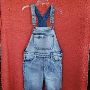 American Rag Overall Shorts
